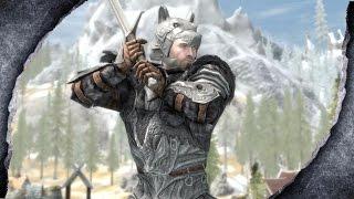 ▶Skyrim Remastered: Wolf Knight Armor ♦️MOD SHOWCASE♦️ | Killerkev ✔️