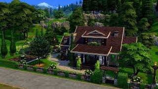 The Sims 4    Speed Build    Gardener's Home