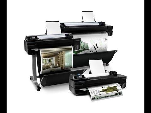 HP Designjet T120 y T520