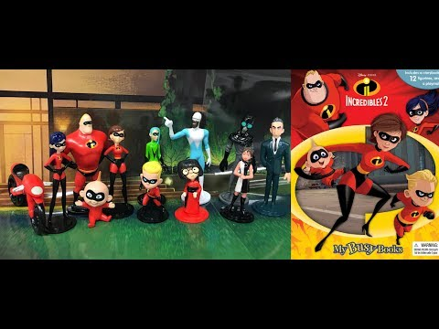The Incredibles 2 My Busy Books