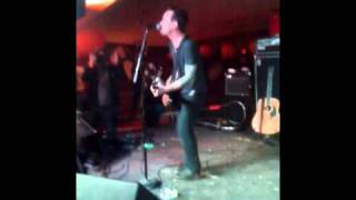 dave hause - god bless the sos (explosion) - 2-24-10 at asbury lanes.MOV