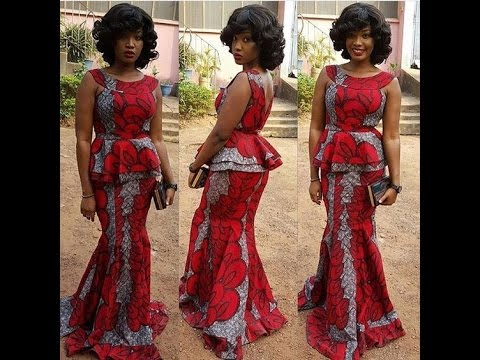 Latest Ankara Skirt and Blouse Styles 2017: Beautiful Ankara Collections