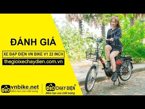 Đánh giá xe đạp điện Vnbike V1 22inh