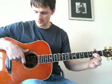 How to tune your guitar to ECDGAD - Andy Mckee tuning