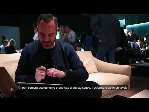 Alain Gilles per Bonaldo - Fragment @ Salone del Mobile 2018 thumbnail
