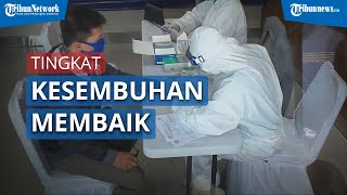 Menko Perekonomian Airlangga Hartarto: Tingkat Kesembuhan Penderita Covid-19 di Indonesia Sudah Baik