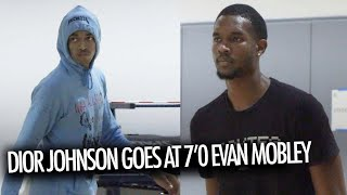 Dior Johnson Is 16 And EVOLVING Into An NBA Lottery Pick! GOES At 7'0 Evan Mobley