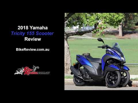 2018 Yamaha Tricity 155 LAMS Scooter Review