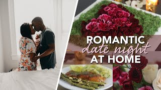 Romantic Stay At Home Date Night + Centerpiece Ideas!