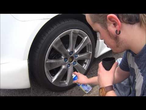How to Plasti Dip your wheels.