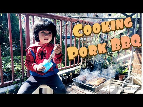 Jian Cooks a Pork BBQ