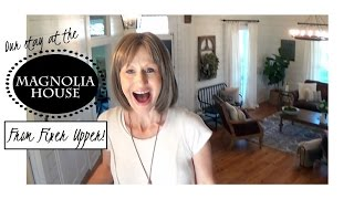 MAGNOLIA HOUSE TOUR | WE STAYED IN THE FIXER UPPER HOUSE | Girls Trip To Waco, TX