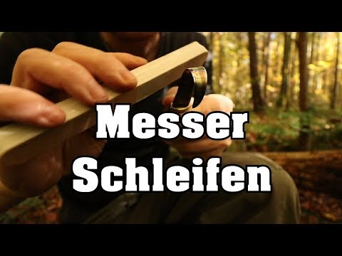 ULTIMATIVER Messer Schleif Tipp- Schnitzmesser, Taschenmesser
