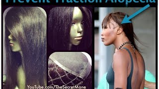 How To Prevent Traction Alopecia like Naomi Campbell's
