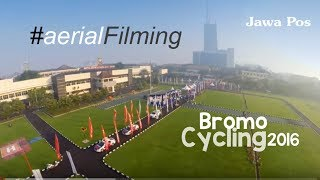 Bromo 100km Cycling 2015 | Drone View