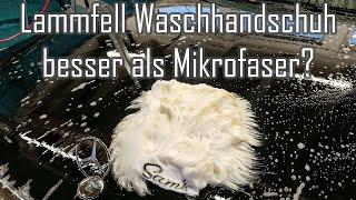 Sam´s Detailing Lambswool Wash Mitt    Lammfell Waschhandschuh wirklich besser als Mikrofaser?