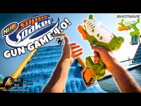 NERF GUN GAME   SUPER SOAKER EDITION 4.0 (Nerf First Person Shooter)