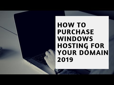 How to purchase windows hosting for your domain 2019