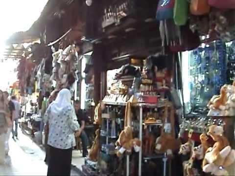 Famous Souk Khan el-Khalili, Cairo, Egyp