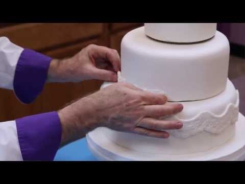 How to Make Your Own Fondant Wedding Cake | Part 1 | Global Sugar Art