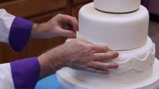 How to Make Your Own Fondant Wedding Cake   Part 1   Global Sugar Art