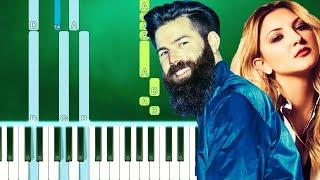 Jordan Davis   Cool Anymore Ft. Julia Michaels (Piano Tutorial Easy) By MUSICHELP