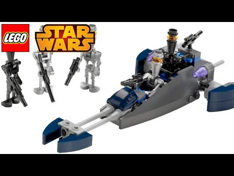 Vidéo LEGO Star Wars 8015 : Ensemble de combat Assassin Droids