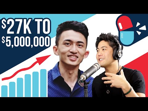 College Student Turns $27K to $5,000,000 (Ft. Steven Dux) - Off The Pill Podcast #40