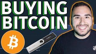 Speichern von Bitcoin auf Ledger Nano S