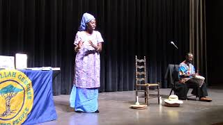 Queen Quet Presents at Anderson University