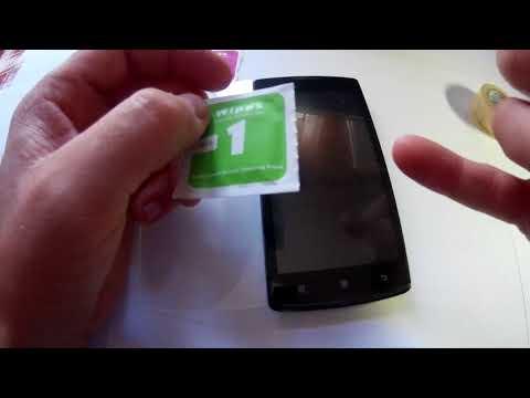 Як поклеїти захисне скло на смартфон Lenovo a 2010