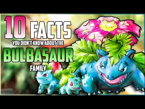 10 FACTS You DIDN'T KNOW About The BULBASAUR Family