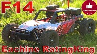 ✔ Радиоуправляемая Авто Модель FPV Buggy Eachine RatingKing F14, 4х4, 720p. Banggood