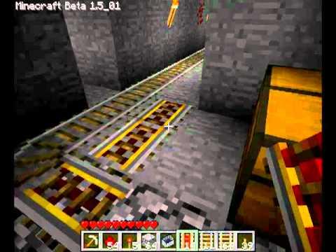 Различные механизмы в Minecraft - 1 Серия