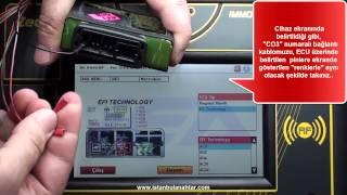 PEUGEOT - VESPA - PIAGGIO - GILERA MOTORSİKLET OBD UYGULAMASI (EFI-TECHNOLOGY-AC2l ECU)