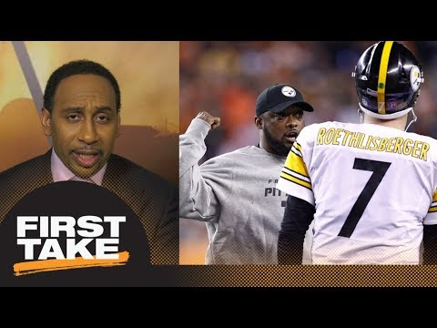 Stephen A. Smith says there is 'no excuse' for Steelers to lose to Patriots | First Take | ESPN