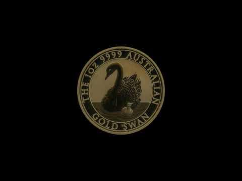 Video - 1 oz Gold Australien Schwan - 2018