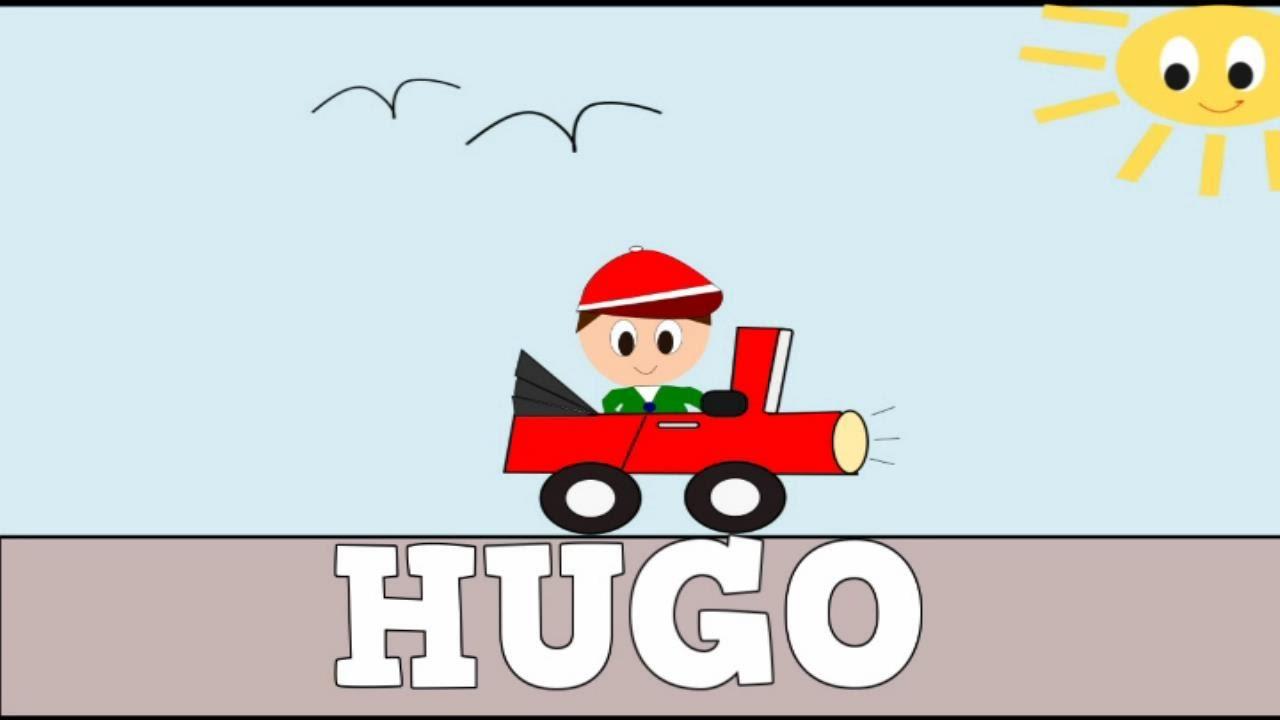 Aprender a Leer y Escribir HUGO - Vídeos Educativos para Niños y Bebés