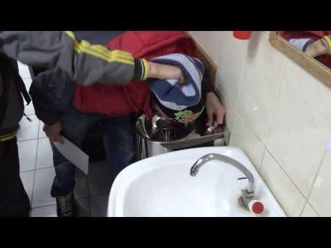 Фонтанчик питьевой ФП-КН1 СанПиН нержавеющий, для школ