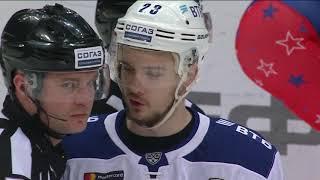 Самые яркие моменты второго раунда плей-офф. ЦСКА-ХК Динамо