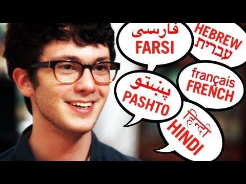 Fenomenální polyglot Tim Doner