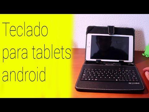Funda económica con teclado para tablets y móviles Android [12,49 euros]