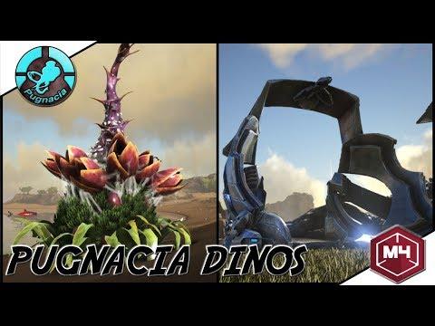 ARK: Pugnacia Dinos - OP CLONING CHAMBER! KYREAMS LITTLE PLANT
