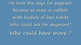 Mad as Rabbits Lyrics , Panic! at the disco