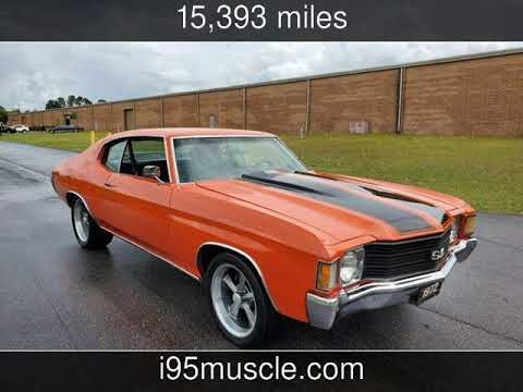 Video of '72 Chevelle - PW9Q