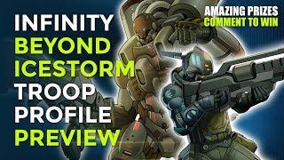 Infinity Beyond Week: Beyond Icestorm Troop Profile Preview
