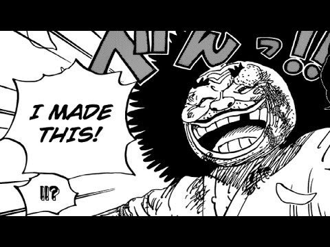 ONE PIECE CHAPTER 942 LIVE REACTION - LAUGHING TO DEATH