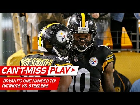 Martavis Bryant's One-Handed TD Catch Caps Off Huge Drive! | Can't-Miss Play | NFL Wk 15 Highlights