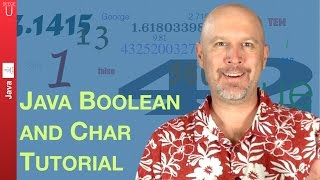 Java boolean and char tutorial - 011
