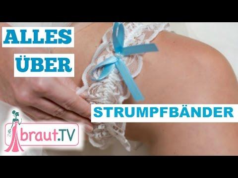 Die BELIEBTESTEN Strumpfband Traditionen, Bräuche & Modelle   braut.TV   Hochzeitsvorbereitung